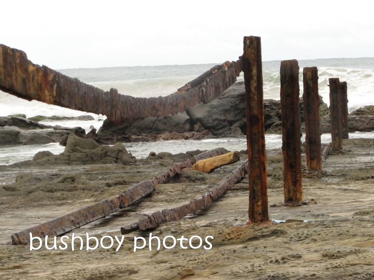 rust_steel posts_beach