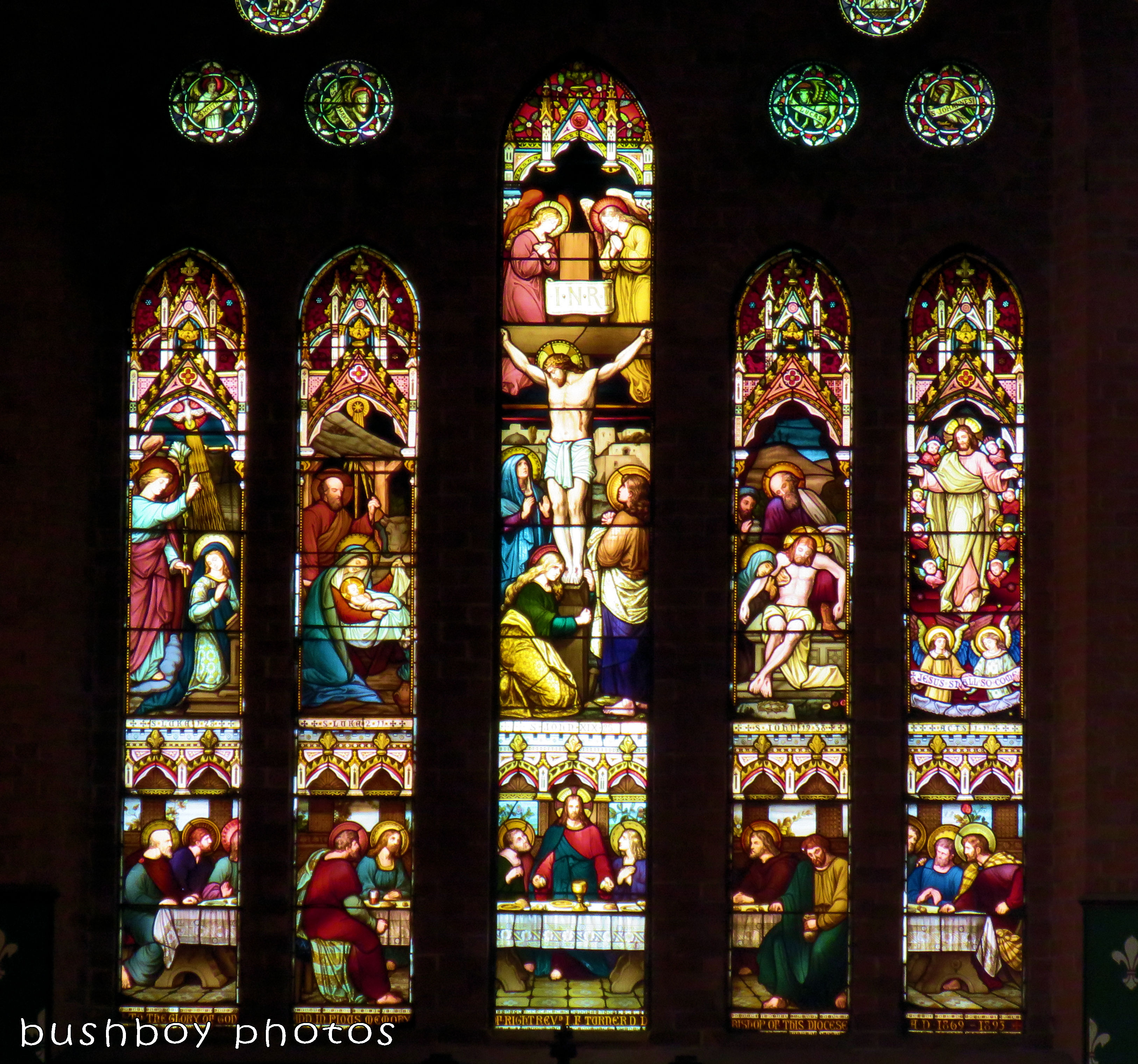 180228_blog challenge_traces of the past_grafton catherdral_stained glass windows_colour
