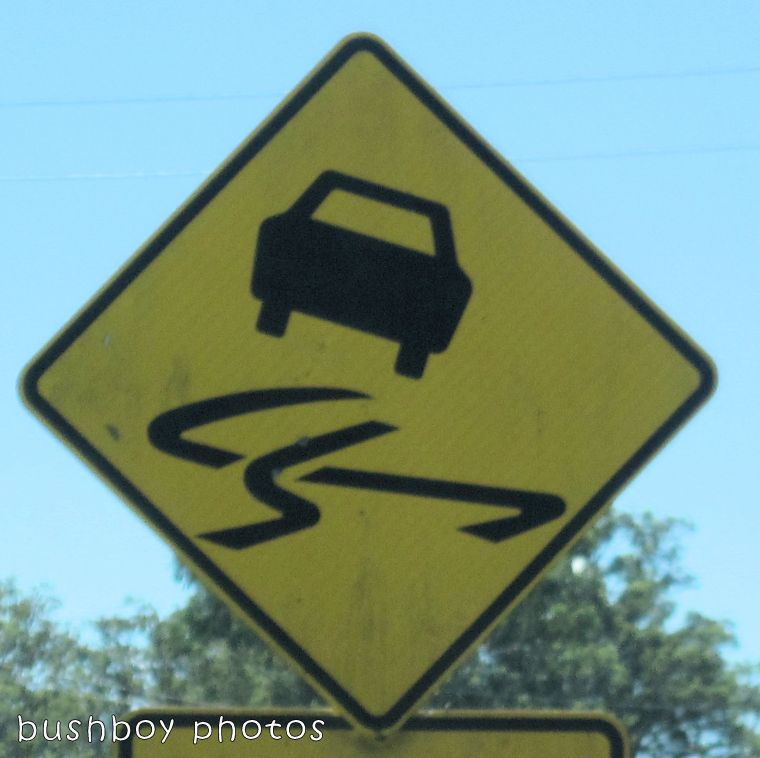 road signs_car swerve