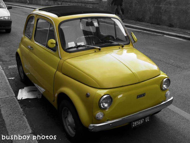 180406_blog challenge_blackandwhite_cars_trucks_motorcycles_car_genoa