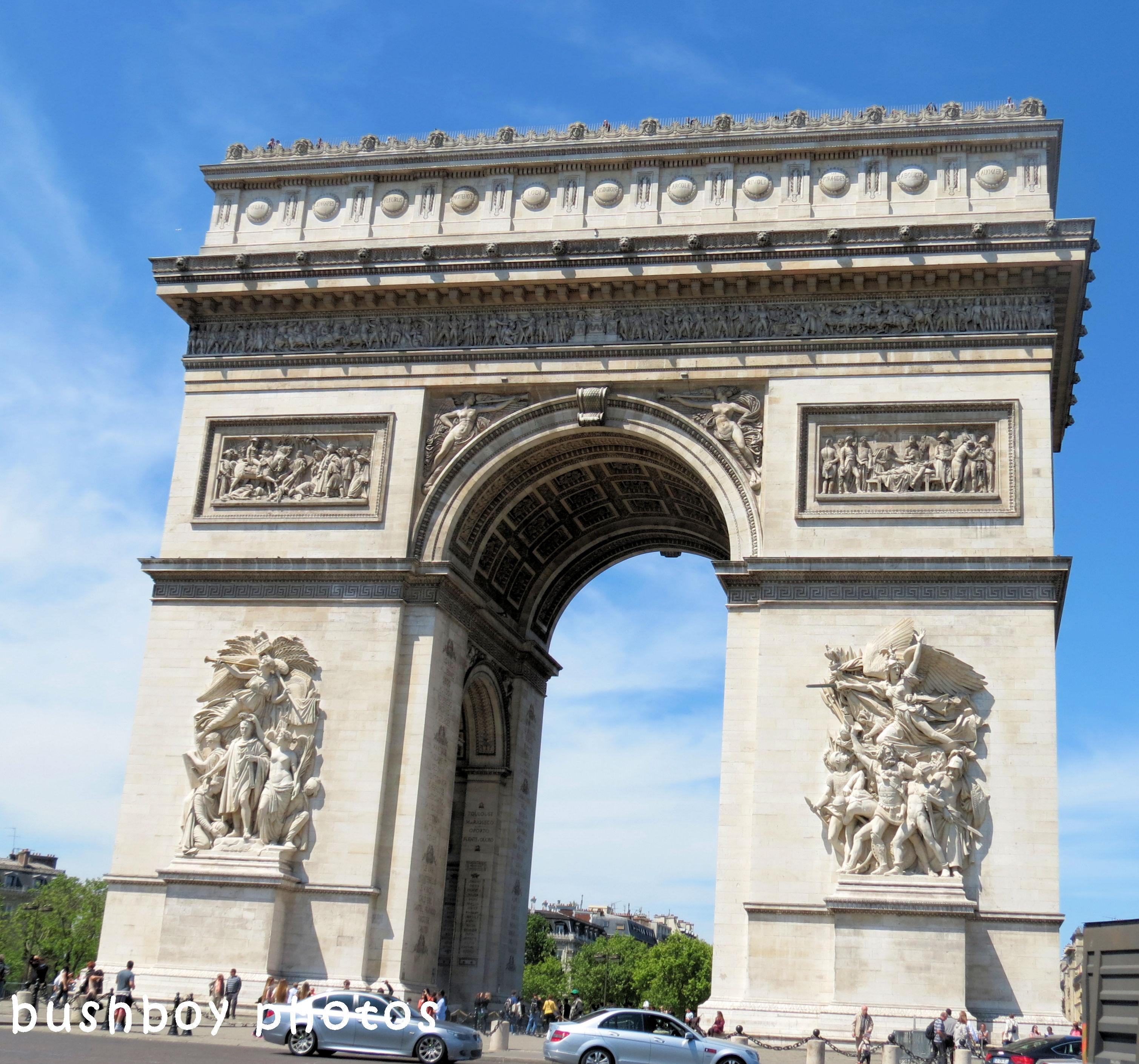 180607_blog challenge_arch_arc de triomph_paris