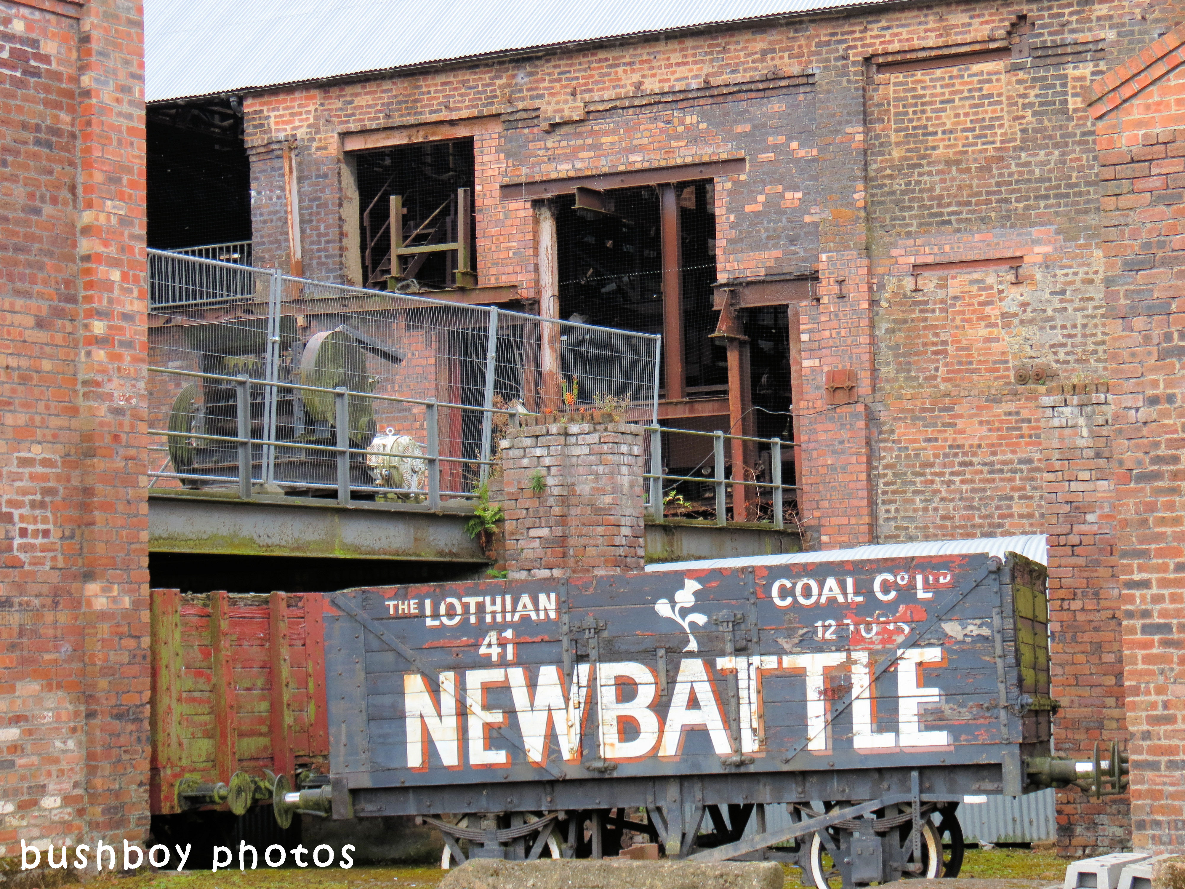 180607_blog challenge_traces of the past_train carriage_coal mine_scotland
