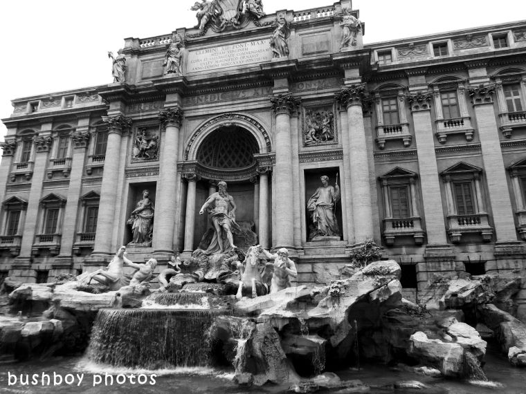 180713_blog challenge_fountains_black and white_trevi_rome