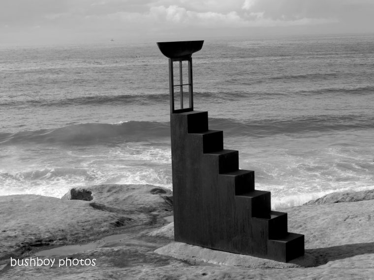 180828_blog challenge_sculptures_black and white_steps
