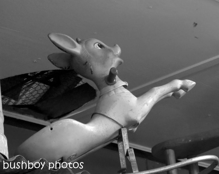 181012_blog challenge_blackandwhite_plastic_toy_deer