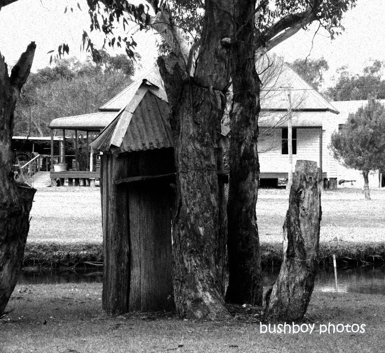 190705_blog_challenge_blackandwhite_bathroom_outhouse_pioneer_villiage_inverell1