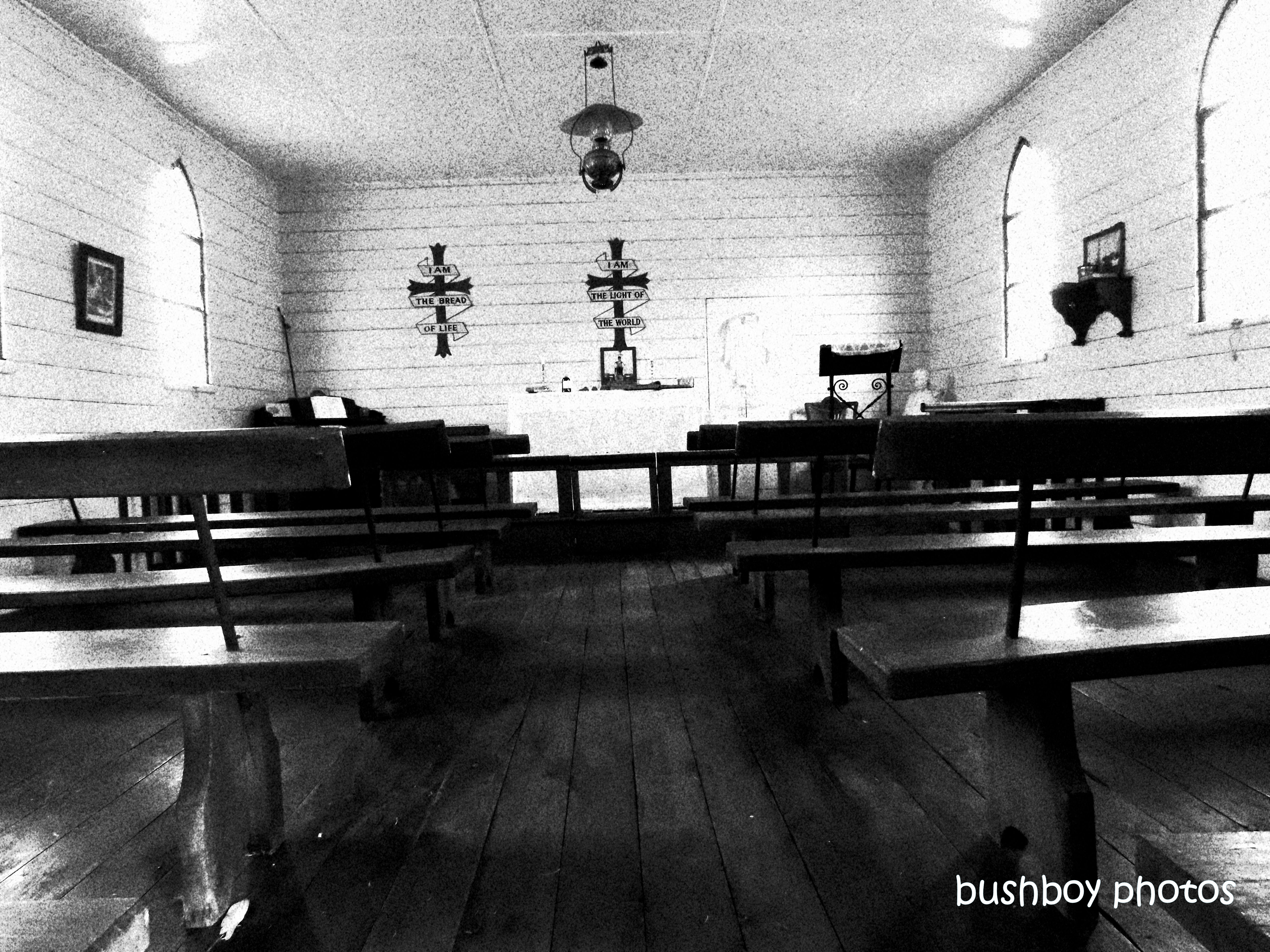 190824_blog_challenge_blackandwhite_things_wood_church_inside_inverell